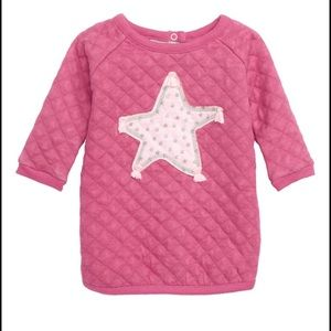 Hatley quilted star dress